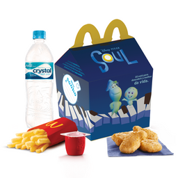 McLanche Feliz Nuggets (4 unidades)