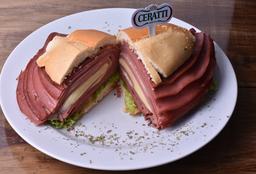 Sanduiche Original Mortadela Mercadão De São Paulo