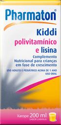 Pharmaton Kiddi Xarope 200mL