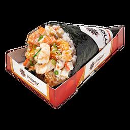 Temaki salmão imperial