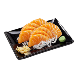 Sashimi duplo salmão