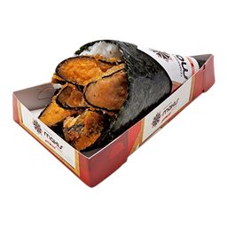 Temaki hot salmão