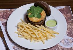 """Burger Gourmet P6 Au Brie Panée À Simaria - """"Simone e Simaria"""""""
