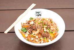 Pad Thai Camarão e Porco
