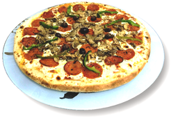 Pizza de Peperoni à Americana