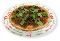 Pizza de Berinjela Vegana