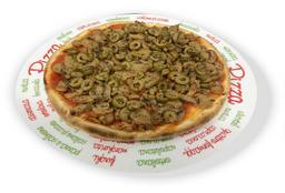 Pizza de Champignon Vegana