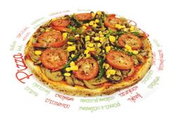 Pizza de Vegetariana Vegana