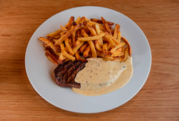 Steak Fries, Molho Mostarda ou Gorgonzola