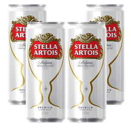 4x Cerveja Stella Artois Pale Larger 310ml