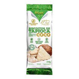 Biscoito de Tapioca Fhom Sabor Coco - 15g