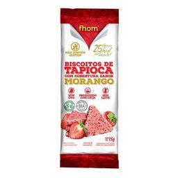 Biscoito de Tapioca Fhom Sabor Morango - 15g