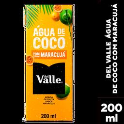Água Coco Del Valle Tp 200 mL Maracujá