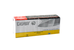 Cigarro Derby Prata Maço 10 Unid
