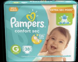 Fralda Pampers Confort Sec Tamanho g 38 Unid