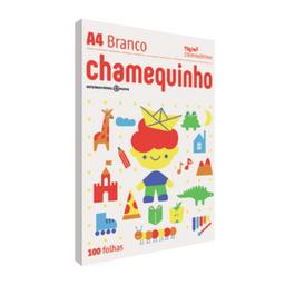 Papel Sulfite A4 Branco Chamequinho 100 Unid