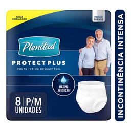 Plenitud Roupa Intima Plenitud Protect Plus P/M - 8 Unidades