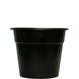 Vaso Plástico West Preto 17X14