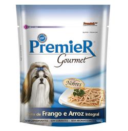 Ração Úmida Premier Gourmet Para Cães sabor Peito de Frango e Ar
