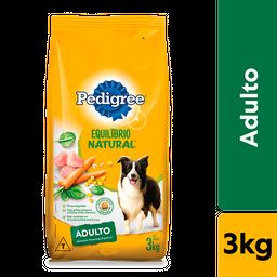 Ração Pedigree Equilíbrio Natural para Cães Adultos de Raças Méd