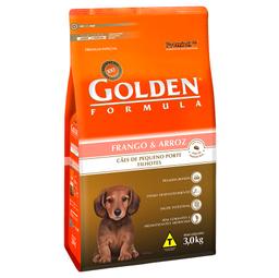 Ração Golden Fórmula Mini Bits para Cães Filhotes de Pequeno Por