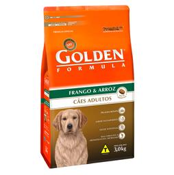 Ração Golden Fórmula para Cães Adultos Sabor Frango e Arroz