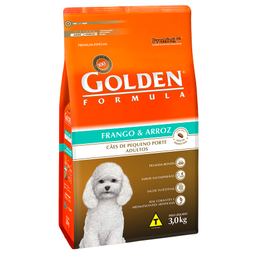 Ração Golden Fórmula Mini Bits para Cães Adultos de Pequeno Port