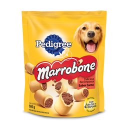 Biscoito Pedigree Biscrok Marrobone para Cães Adultos Sabor Carn