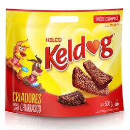 Bifinho KelDog para Cães Adultos Sabor Churrasco (500g)