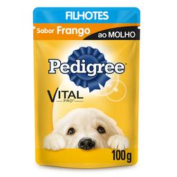 Ração Úmida Pedigree Sachê Vital Pro para Cães Filhotes Sabor Fr