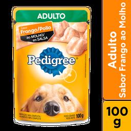 Ração Úmida Pedigree Sachê Frango ao Molho Cães Adultos 100g