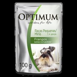 Ração Umida Optimum Sachê para Cães Adultos de Raças Pequenas Sa