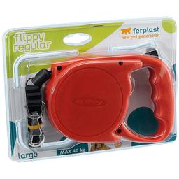 Guia Ferplast Flippy Regular Para Cães Vermelho (Tamanho P)