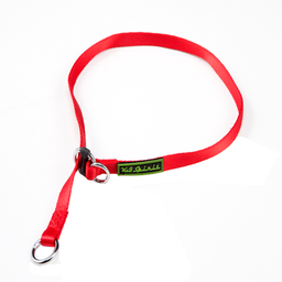 Colar K9 Spirit de Poliéster para Cães Vermelho (Tamanho M)