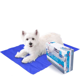Tapete Gelado Chalesco Pet Cooling Mat para Cães (Tamanho M)