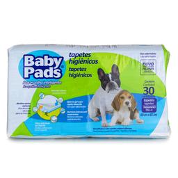 Tapete Higiênico Baby Pads para Cães (30 Unidades)