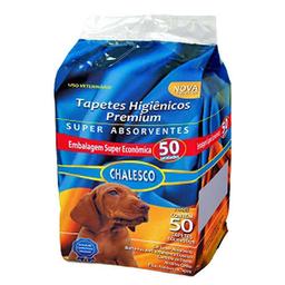 Tapete Higiênico Chalesco Premium para Cães (50 unidades)