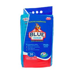 Tapete Higiênico Expet Blue Premium Para Cães (30 unidades)