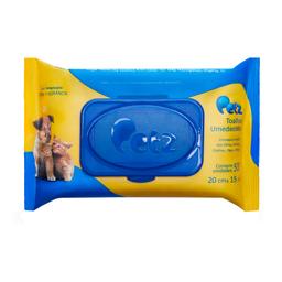 Toalhas Umedecidas Petz para Cães e Gatos 50un (1 unidade)