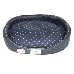 Cama Bonito Pra Cachorro para Cães Coroa Azul (Tamanho P)