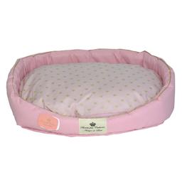 Cama Bonito Pra Cachorro para Cães Coroa Rosa (Tamanho P)
