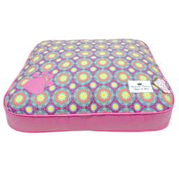 Almofada Bonito Pra Cachorro para Cães Mandala Pink (Tamanho M)
