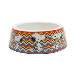 Comedouro Zooz Snoopy Melamina Mel-Mosc para Cães (Tamanho P)