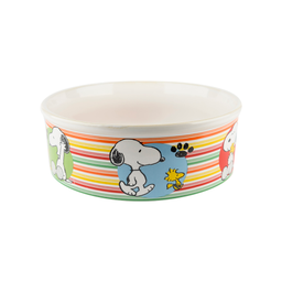 Comedouro Zooz Snoopy Melamina Snop1 (Tamanho M)