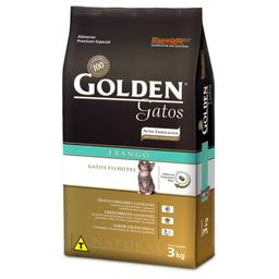 Ração Golden Gatos Filhotes Sabor Frango (3Kg)
