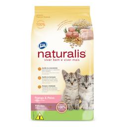 Ração Naturalis para Gatos Filhotes Sabor Frango e Peixe (10kg)