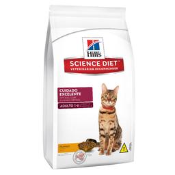 Ração Hills Science Diet Cuidado Excelente Para Gatos Adultos De