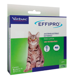 Virbac Effipro Antipulgas Para Gatos