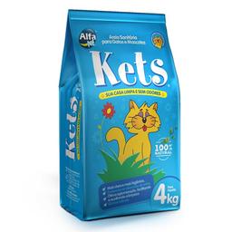 Areia Higiênica Kets para Gatos (4kg)