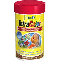 Alimento para Peixe Tetra Peixe TetraColor Flakes (20g)